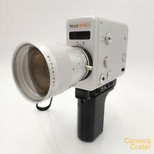 Braun Nizo S800 Super 8 Cine Film Camera - Working but issue w/ exposure S8-2194