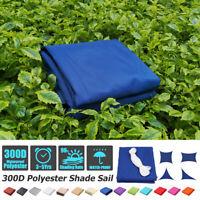 20' 300D Sun Shade Sail Canopy Patio UV Block Top Rectangle Cover Outdoor Garden