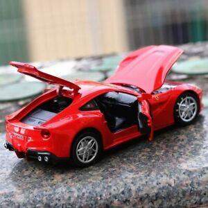 1:32 Ferrari F12 Super Race Car Metal Alloy Collection Model Miniature Toys Gift
