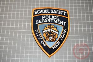 NYPD School Safety Patch (B-NY)