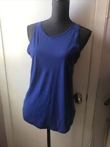 Lululemon  Size 8  Top With Mesh  Blue