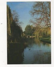 University Of York The Lake & Spring Lane Bridge Postcard 902a