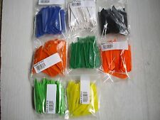 VANE-TEC 3 INCH VANES 100 PACK - 9 COLORS THAT YOU CAN  MIX -  see the list