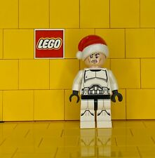 Lego Star Wars Clone Trooper With Santa Hat sw0596 From Set 75056