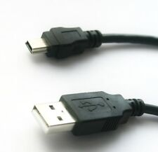30cm USB 2.0 Hispeed mini-B conector 5-polos de carga-cable cable de datos 0,3m