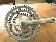Campagnolo Triple Bicycle Crankset 170mm 52/42/30 10spd Veloce Silver w/ BB