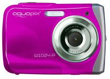 Aquapix W 1024 P Waterproof Camera Pink 10 MP 2 4 Inch TFT LCD