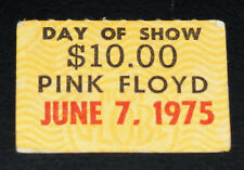 Pink Floyd - Wish You Were Here - June 7 1975 Atlanta Day of Show Concert Ticket