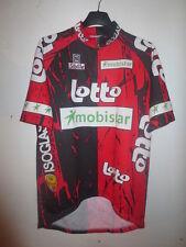 Maillot cycliste LOTTO MOBISTAR ISOGLASS 1997 jersey trikot shirt vintage 5 XL
