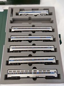 KATO N Gauge 162-6282 AMFLEET VIEWLINER INTERCITY EXPRESS Phase VI - Set