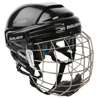 BAUER 7500 Hockey Helmet Combo, Bauer Ice Hockey Helmet with Cage, Inline Helmet