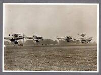 HAWKER HECTOR FORMATION VINTAGE ORIGINAL PRESS PHOTO RAF ROYAL AIR FORCE 5