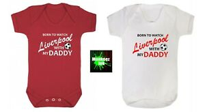 Liverpool football Club Baby grow Vest Boy Girl Clothes Present shower gift