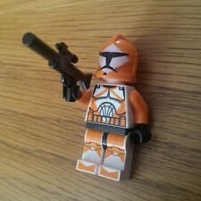 Lego Star Wars Bomb Squad Trooper with Machine Gun - Excellent Condition
