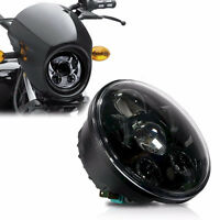 "5-3/4"" 5.75'' Round LED Headlight Daymaker Projector For Harley Dyna Sportster"