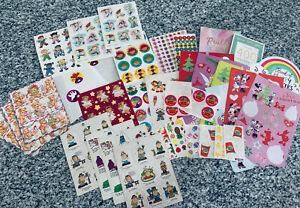 Vintage Stickers Lot Gibson Hallmark AGC GGI Scholastic Sheets Mix Lot