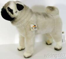 KOSEN Of Germany #5890 NEW Standing Pug Dog Plush Toy