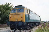 British Rail Class 47 47360 Cadishead 08/08/85 Rail Photo