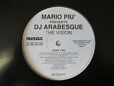 "Mario Piu' Presents DJ Arabesque-The Vision-Vinyl-12""-Single-EP-Record-2000"
