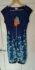 BNWT Sold Out RARE £160 Karen Millen Size 4 6 8 Navy Floral Butterfly Dress