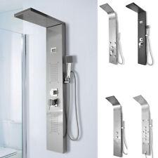 Duschpaneel Massage Duscharmatur Edelstahl Regendusche Duschsäule Bad Duschset