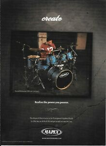MAPEX DRUMS - DARRELL ROBINSON of LL COOLJ - 2006 Print Advertisement