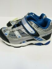 Jumping Beans ,Toddlers, Silver, Black & Blue, Shoes, Size 7, New