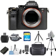 Sony Alpha a7R II Mirrorless Digital Camera (Body Only) STARTER BUNDLE!! NEW!!