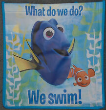 """@FINDING DORY """"WHAT DO WE DO? WE SWIM!""""REUSABLE TOTE/GOODY/FAVOR/TREAT/GIFT BAG@"""