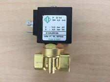 """elettrovalvola 12v DC 1/4"""" 212A2KV25 corrente continua prodotti idonei viton"""