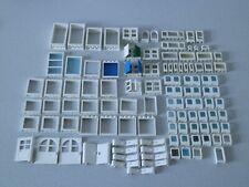 Lego 111 x Fenster Rahmen Fensterrahmen Türen  weiss weiß Konvolut
