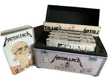 Metallica Live Shit: Binge & Purge Box Set 1993 UK + Casette 2 Of One VHS Tape