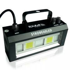 LED luz estroboscópica strobe 40led SMD Flash Flash DMX 2x20w Flashlight Ibiza Light