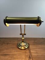 Vintage Brass Piano Lamp Brushed Finish