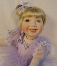 Twinkle Toes Recital Collection Titus Tomescu 1997 Little Violet Ballerina Doll