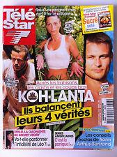 TELE STAR du 05/10/2009; Koh LAnta/ Carole Rousseau/ Obispo/ Ellen Pompeo/Gellar