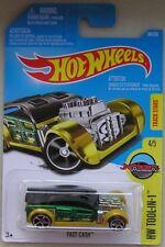 Hot Wheels 2016 34 of 250 Fast Cash Hotwheels HW Tool-In-1 - Long Card