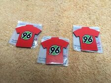 3 Stk. Fußball-Bundesliga MAGNET-PIN Hannover 96 -neu und ovp-