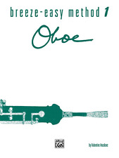 "Breeze-Easy Method Music Book 1 ""Oboe"" Instruction-Brand New On Sale-Woodwind!"