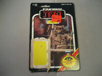 Vintage Star Wars ROTJ Paploo Card Back 79 Back