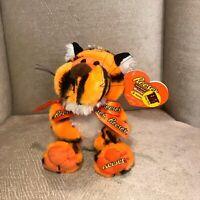"""Reese's 11"""" Tiger Plush Orange Striped Soft Stuffed Animal Talking Singing NWT"""