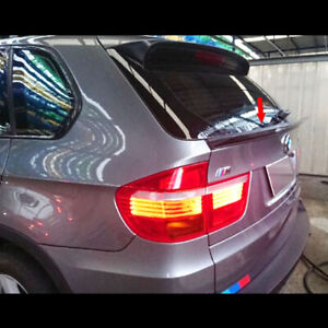 Painted L Type Fit For BMW BMW E70 X5 Series Rear Trunk Lip Spoiler 2007-2013