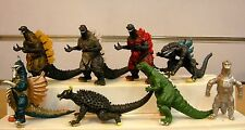 NEW 8pcs Godzilla Monsters action figures figurines toy