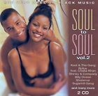 SOUL TO SOUL VOL. 2 - THE VERY BEST OF BLACK MUSIC / VARIOUS ARTISTS / 2 CD-SET