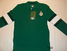 CLUB SANTOS LAGUNA MEN'S POLO SHIRT (SIZE S) 2013   -OFFICIALLY LICENSED SHIRT
