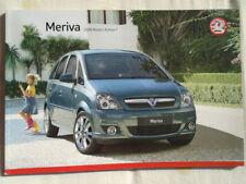 Vauxhall Meriva range brochure 2008 models Ed 1