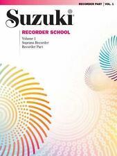 Suzuki Recorder School: Soprano Recorder (Volume 1), , 0874875536, Book, Accepta