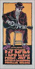 Ray Davies Poster Original Signed Silkscreen by Gary Houston
