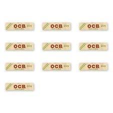 OCB Organic Hemp King Size Slim Cigarette Smoking Rolling Papers Genuine 10pcs