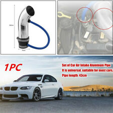 75mm Blue Cold Air Intake Induction Pipe Kit Filter Tube System for Car Vehicle
